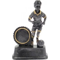 Trophy soccer 11 cm