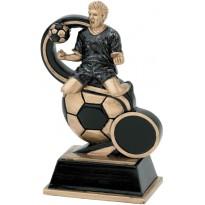 Trofeo calcio cm 18,5