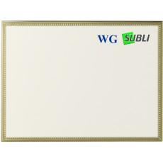 Aluminium plaque 13x9