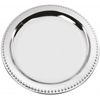 Plate silver 31,5 cm