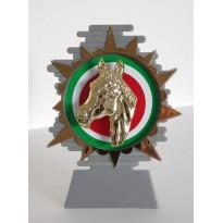 Trofeo cavallo cm 14