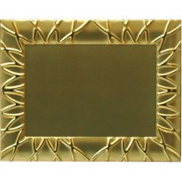 Plate gold cm 19,5x14,5