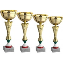 Serie di 4 coppe