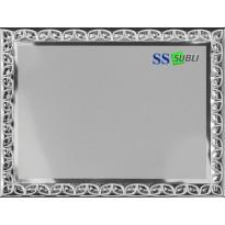 Aluminium plaque 20x15
