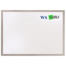 Aluminium plaque cm 13x8,5